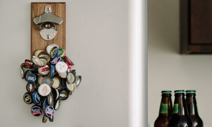 DropCatch: Engraved Magnetic Bottle Opener from DropCatch (Up to 53% Off)