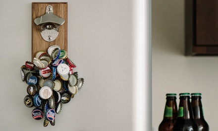 $35 for an Engraved Magnetic Bottle Opener from DropCatch (Up to $75 Value)