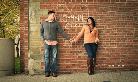 Onsite Engagement, Maternity and Newborn Sessions, or Senior Session from Kat Hall Photography (Up to 53% Off)