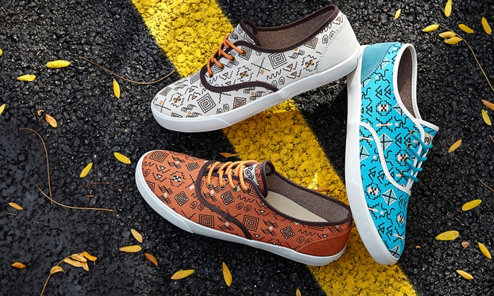 Generic Surplus: $45 for Generic Surplus Men's Printed Canvas Shoes ($78 List Price). Multiple Colors. Free Shipping and Returns.