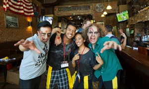 End of the World Zombie Pub Crawl: Entry for One, Two, or Four to End of the World Zombie Pub Crawl on Saturday, May 30 (Up to 50% Off)