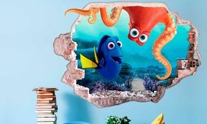 oferta: Vinilo decorativo adhesivo 3D  Disney Finding Dory  por 29,90 € (81% de descuento)