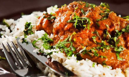 Indian Cuisine at Diya Restaurant, Lounge & Banquet (48% Off). Two Options Available.