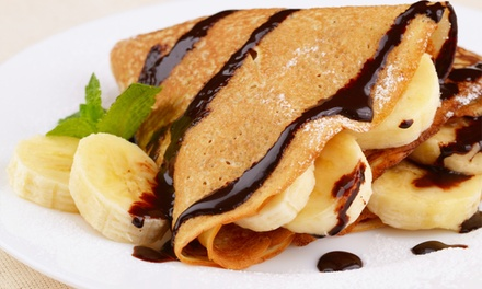 20% Cash Back at 48 Main Cafe & Creperie