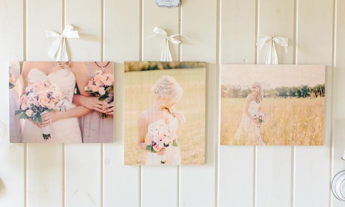 3 Custom Wood Photoboards from PhotoBarn: 3 Custom Wood Photoboards from PhotoBarn from $29.99–$49.99