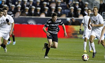 $11 for One Ticket to the 2014 Army–Navy Cup Collegiate Soccer Match at PPL Park on Friday, November 7 ($22.50 Value)