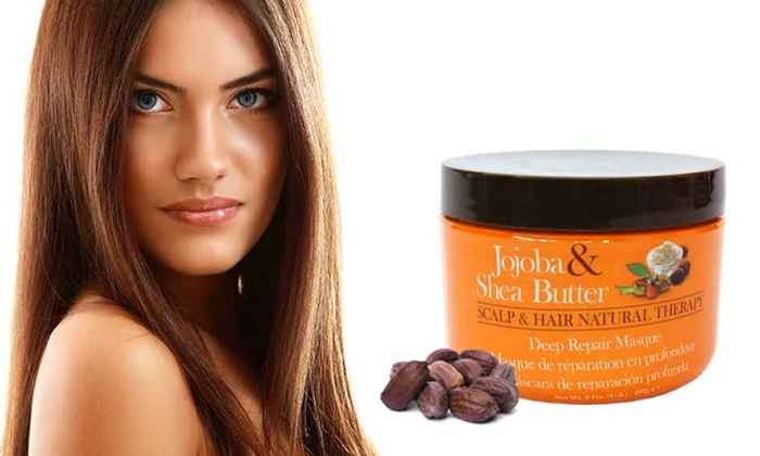 Jojoba & Shea Butter Natural Therapy Deep Repair Hair Mask: Jojoba & Shea Butter Natural Therapy Deep Repair Hair Mask