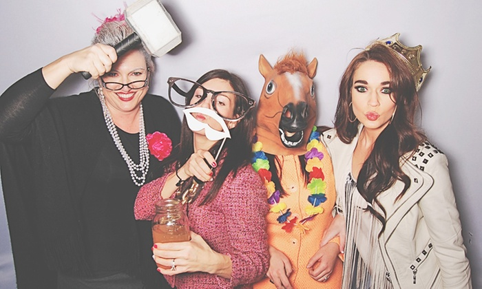 Robot Booth - Columbus GA: 12-Hour Weekday or Weekend Photo-Booth Rental from Robot Booth (50% Off)