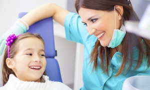 Ellinwood Dental: Dental Cleaning, Exam, & Full-Mouth X-Rays with Optional Six-Month Followup at Ellinwood Dental (Up to 85% Off)