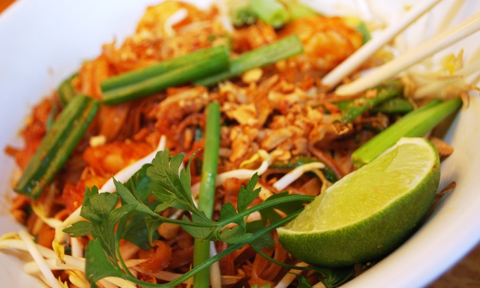 Wok Town - Miami Beach - West Avenue: $20 or $30 Worth of Asian Food and Drinks for Two or More at Wok Town