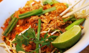 Wok Town - Miami Beach: $20 or $30 Worth of Asian Food and Drinks for Two or More at Wok Town