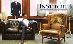 InStitchu: $59 for Tailored Shirt or $699 for Two-Piece Tailor-Made Men's Suit + Two Shirts by InStitchu (Up to $1,237 Value)