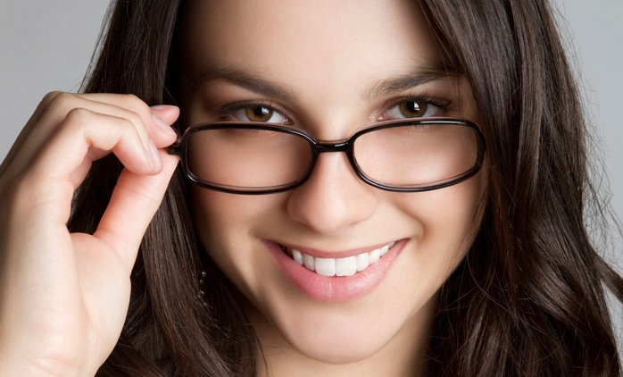 Eye Exam with Basic ($69) or Designer Frames and Lenses ($99) at Spex For You Optometrists, CBD (Up to $557 Value)