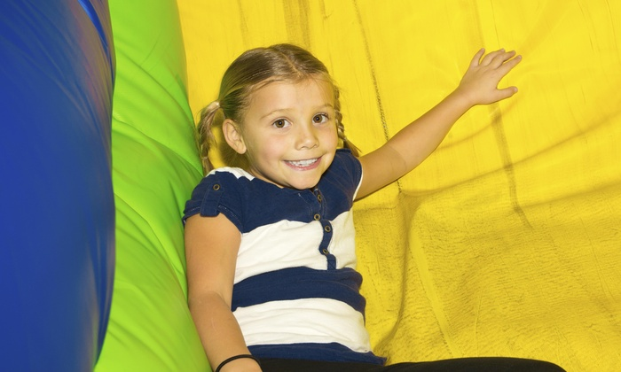 Indy Jump - South Franklin: Six-Hour Bounce-House and Concession Rental from Indy Jump (50% Off)