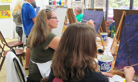 Four Professional Art Classes for One or Two with an Intro Class at The Artist Studio (Up to 60% Off)
