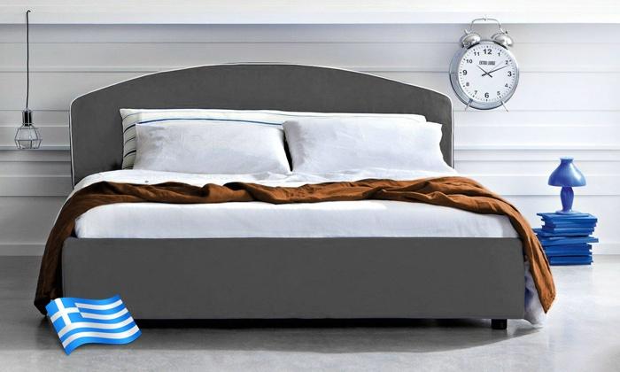 Crama - Κορωπί: Κρεβάτι Milan με ή Χωρίς Στρώμα Foam Hellas σε 3 Διαστάσεις (από 249€)
