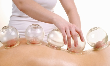 Cupping Massage with Optional Acupuncture Sessions at 12 Meridians Acupuncture (Up to 68% Off)