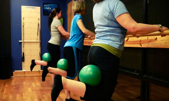 Pilates Etc. - Deer Park: $49 for Five Barre Fitness Classes at Pilates Etc. ($100 Value)
