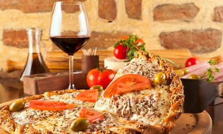 FourCourse Italian Meal with Wine for Two $49 or Four People $96 at Stella D'Italia Up to $212.80 Value