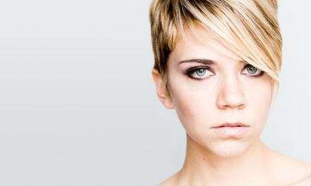 Haircut with Conditioning Treatment or Partial or Full Highlights at Vanity Beauty Hair Salon (Up to 62% Off)