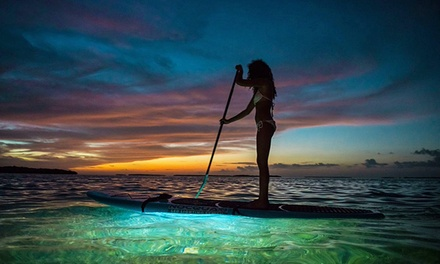 One- or Two-Hour Paddleboard Rental for Two or Two-Hour Sunset Paddleboard Rental from Go Paddle Down (50% Off)