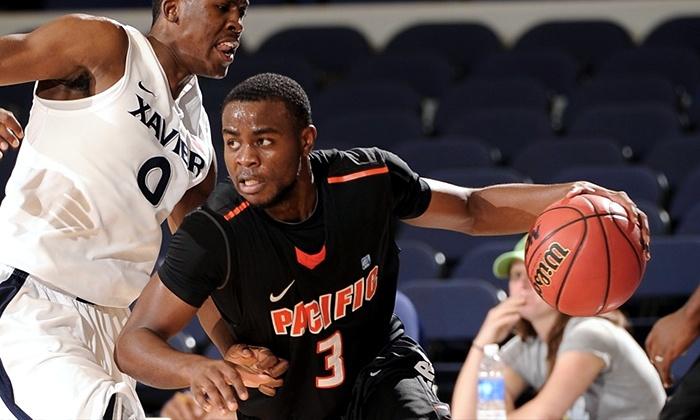 University of the Pacific Men's Basketball - Pacific: $10 to See the Pacific Tigers Men's Basketball Game Against Gonzaga Alex G. Spanos Center on February 27 ($14 Value)