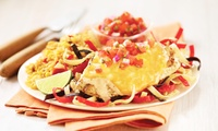 Choice of Burger, Chicken or Pasta Platter or Fajitas With Sides plus Fountain Drinks at Applebees (Up to 54% Off)