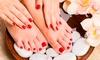 Athenea - Chester le Street: Manicure and Pedicure for £15 at Athenea (62% Off)