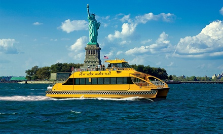 $19 for an All-Day Access Pass to New York Water Taxi and Circle Line Downtown         ($30 Value)