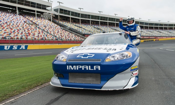 NASCAR Racing Experience - Kentucky Motor Speedway: Three-Lap Ride-Along or Three-Hour Driving Experience from NASCAR Racing Experience (Up to 51% Off)