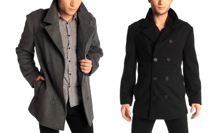 Men's Alpine Swiss Jake Pea Coat