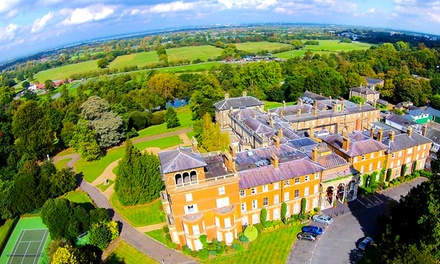 Surrey: 1 or 2 Nights for Two with Breakfast and Option for Dinner, Prosecco and Cream Tea at the 4* Oatlands Park Hotel