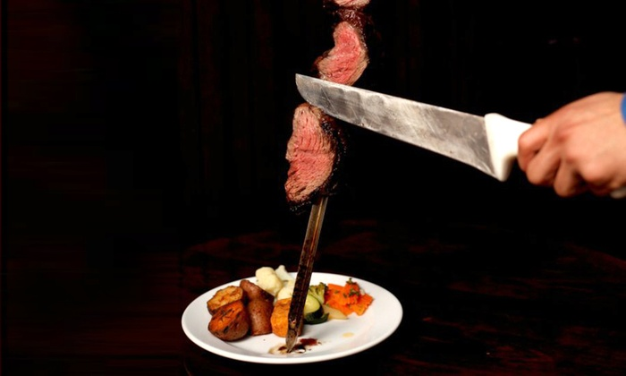 Ekko de Brasil - District de Deschenes: Brazilian Steakhouse Meal with Cocktails, Wine, and Brazilian Coffee for Two or Four (Up to 41% Off)