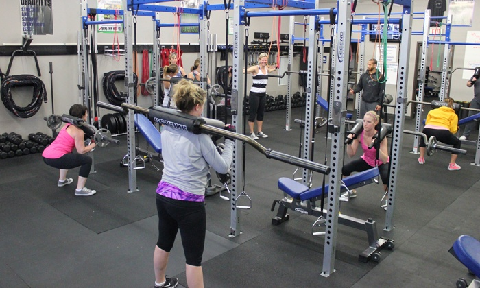 Plunkett Fitness - Blue Valley: $39 for Four Weeks of Group Personal Training at Plunkett Fitness ($119.99 Value)