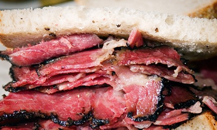 Ben's - Reserve at Boca: $23 for Four Kosher Sandwiches or Wraps at Ben's in Boca Raton (Up to $45.96 Value)