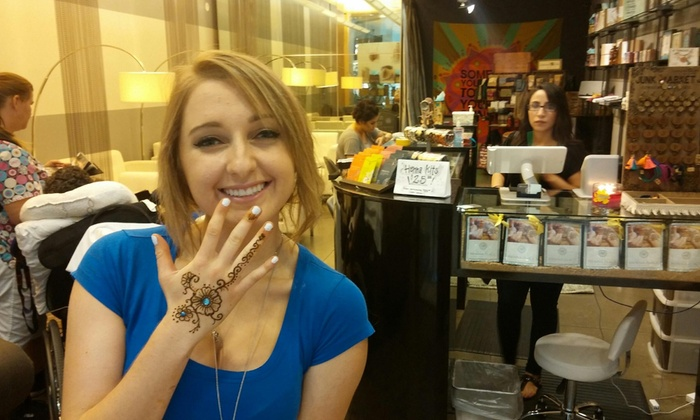 The Henna Place - The Henna Place: $8 for $15 Worth of Henna-Tattoo Services — The Henna Place