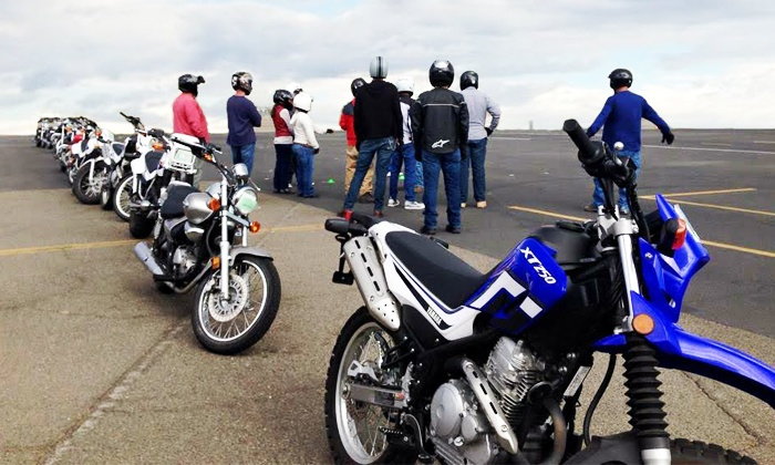 California Motorcycle License - Multiple Locations: Motorcycle Safety Workshop at California Motorcycle License (50% Off)