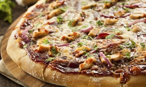 W XYZ Bar at Aloft Minneapolis: Specialty Pizza and Drinks for Two or Four at W XYZ Bar at Aloft Minneapolis (50% Off)