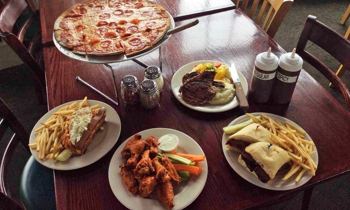 Howard Street Inn - Niles: Pub Food and Drinks at The Howard Street Inn (Up to 45% Off). Two Options Available.