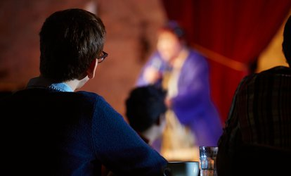 image for Comedy Show and Dinner for Two or Four at Somerville Brewing (Up to 55% Off)