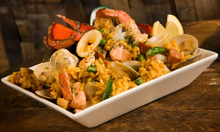 Fuzion Restaurant & Bar - Elmwood Park: Latin Fusion Dinner for Two or Four at Fuzion Restaurant & Bar (Up to 55% Off)