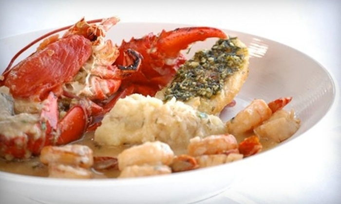 Capt's Waterfront - Premium Steak & Seafood Grill  - Downtown Salem: Seafood and Steak on Sunday–Friday or Saturday at Capt's Waterfront - Premium Steak & Seafood Grill (Up to Half Off)