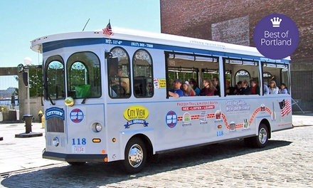 Trolley Tour and Harbor Cruise for One, Two, or Four from CityView Trolley Tours (Up to 55% Off)