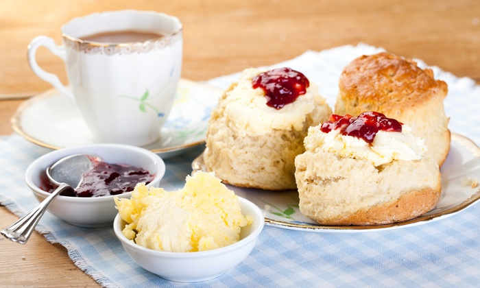 Devonshire Cream Tea for Two or Four at The Devonshire Park Hotel