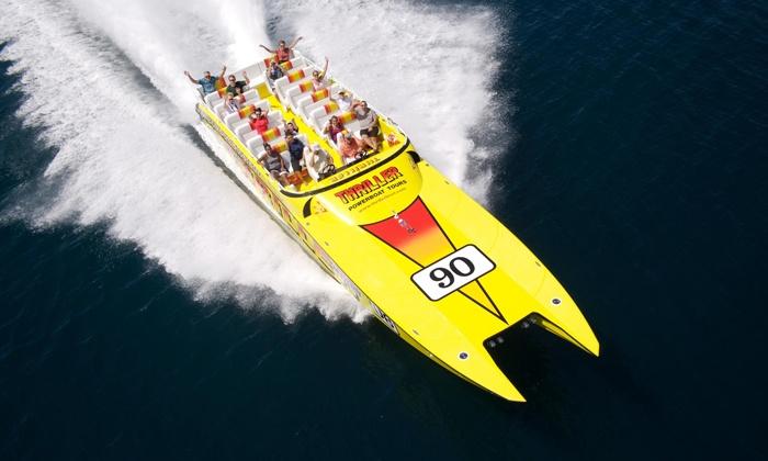 Thriller Miami Speedboat Adventures - Downtown Miami: $23 for a Speedboat Tour from Thriller Miami Speedboat Adventures (Up to $36 Value)