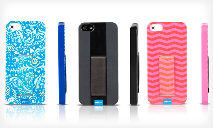 GripFree Cases for iPhone 5 and 4/4S: $11.99 for a GripFree Hard or Rubber Case for iPhone 5 or 4/4S ($30 List Price). Multiple Colors. Free Returns.