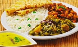 Rajbhog Cafe: $12 for $20 Toward Indian Vegetarian Cuisine at Rajbhog Cafe