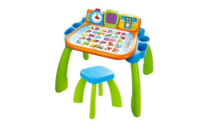 Vtech Touch Amp Learn Activity Desk Groupon