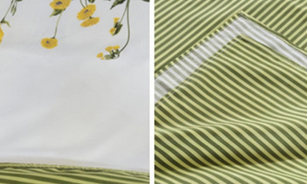 1000tc Aloe Cotton Flat Bedsheet Bed Sheet Set Bedding Set