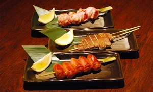 Takumi Yakitori: Lunch or Dinner for Two or Four at Takumi Yakitori (40% Off)